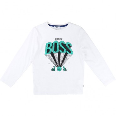 Koszulka chłopięca HUGO BOSS 001355