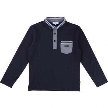 Elegancka chłopięca koszulka polo Hugo Boss 001356