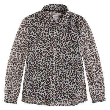 Koszula panterka Pepe Jeans przód 001400