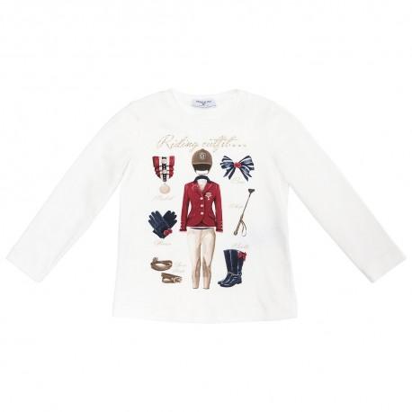 Koszulka dziewczęca MONNALISA 001232