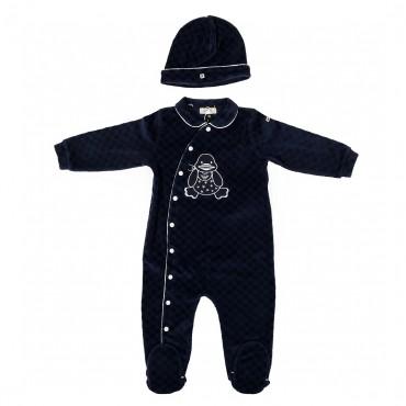 Komplet niemowlęcy ARMANI BABY 001434