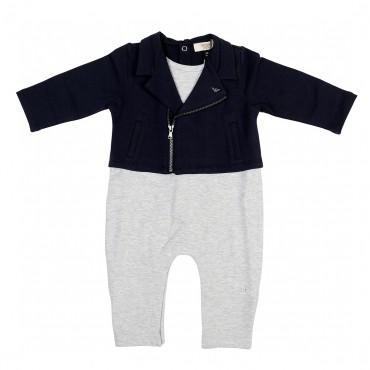 Pajacyk niemowlęcy z bluzą Armani Baby 001453