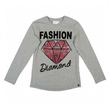 Koszulka z diamentem Miss Grant 001467 A
