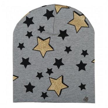 Czapka w gwiazdki MISS GRANT 001492 A