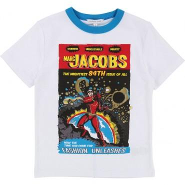 Koszulka dla dziecka z superbohaterem LMJ 001604
