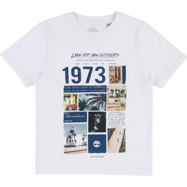 Koszulka dla dziecka z widokiem Timbeland 001624