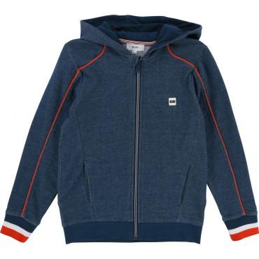 Bluza chłopięca jaskrawe detale Hugo Boss 001867