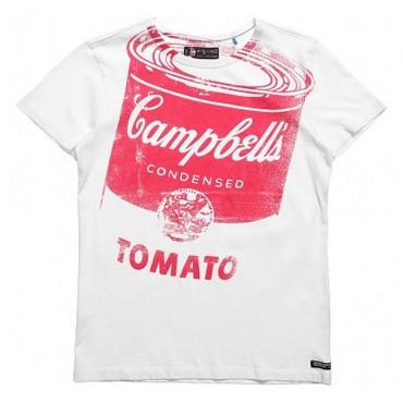 T-shirt chłopięcy Campbell's Andy Warhol 001905