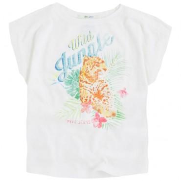 Koszulka z tygrysem Pepe Jeans 001915 A