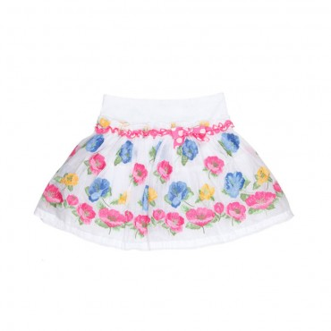 Spódnica w kwiaty MONNALISA 001919