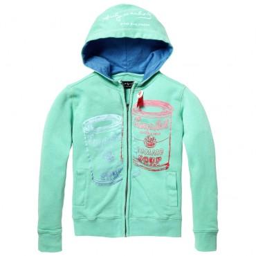 Miętowa bluza dla chłopca Andy Warhol 001929