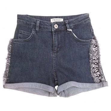Szorty z jeansu Twin Set 001932 A