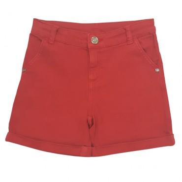 Szorty czerwone TWIN SET 001957 przód