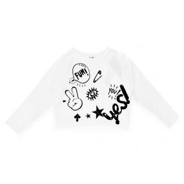 Bluza dziewczęca graffiti Miss Grant 001864