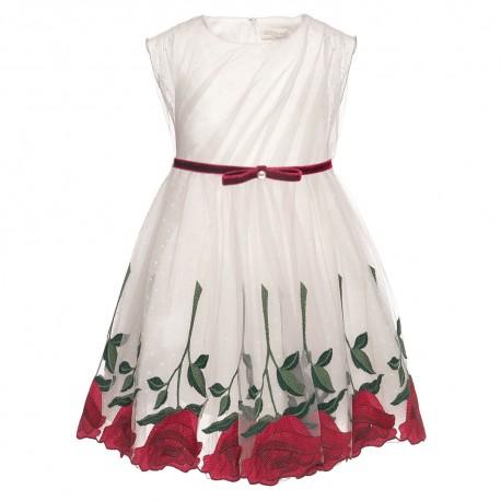 Ekskluzywna sukienka dziewczęca MONNALISA 001992