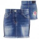 Spódnica jeansowa dla dziewczynki Monnalisa 001997