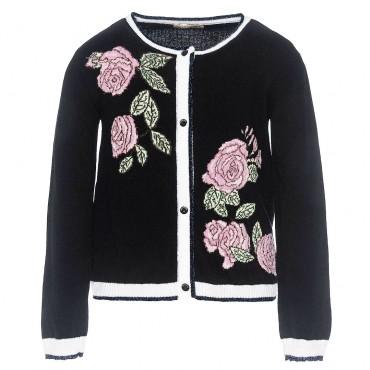Elegancki sweter dla dziewczynki Monnalisa 001998