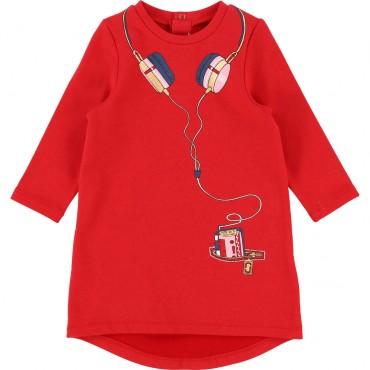 Sukienka niemowlęca Little Marc Jacobs 002000