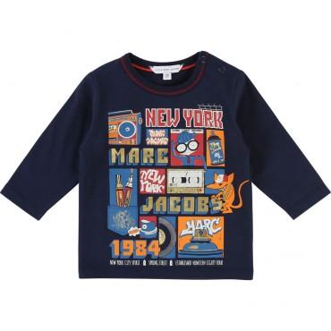 Koszulka chłopięca LITTLE MARC JACOBS 002002