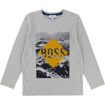 Koszulka chłopięca HUGO BOSS 002027