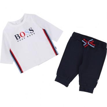 Komplet niemowlęcy HUGO BOSS 002033