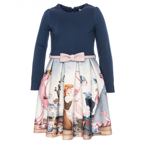 Ekskluzywna sukienka dziewczęca MONNALISA 002041