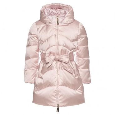 Zimowy płaszczyk dla dziewczynki Monnalisa 002044