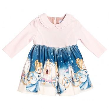 Sukienka z kopciuszkiem Monnalisa 002049 A