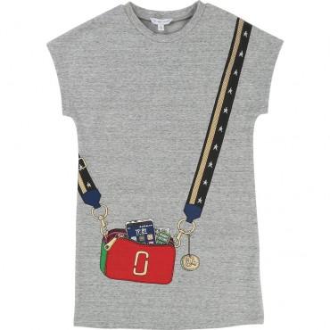 Sukienka dla dziewczynki Little Marc Jacobs 002062