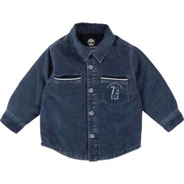 Ocieplona koszula niemowlęca Timberland 002064