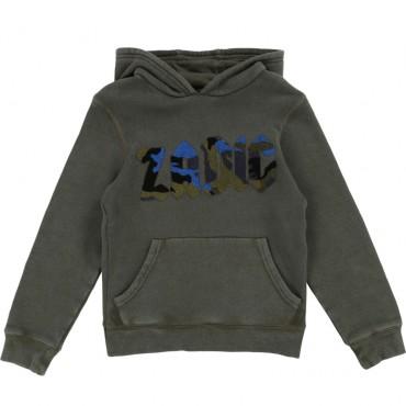Bluza chłopięca logo frotte Zadig&Voltaire 002073