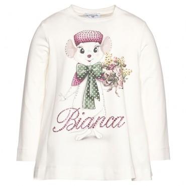 Bluzka BIANCA Monnalisa 002078 A