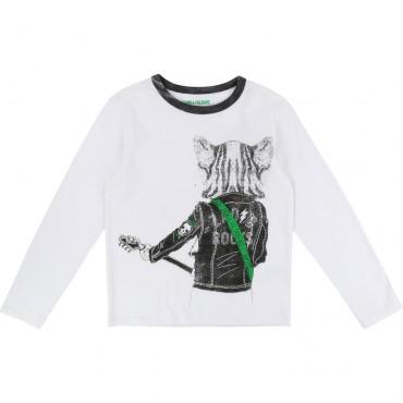 Rockowa koszulka chłopięca Zadig&Voltaire 002104