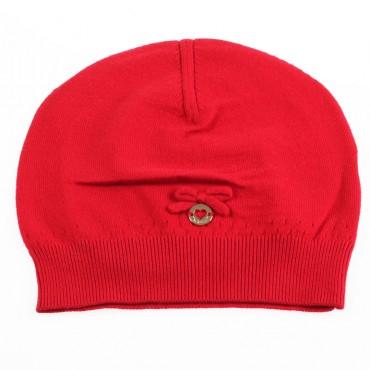 Czerwona czapka dla dziewczynki Twin Set 002121