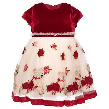 Sukienka dziewczęca MONNALISA 002131
