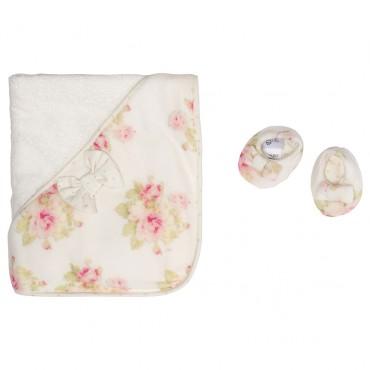 Zestaw niemowlęcy w kwiaty MONNALISA 002135 A