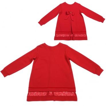 Sukienka z czerwoną kokardą Twin Set 002163 A
