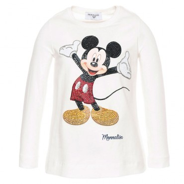 Koszulka dziewczęca MONNALISA 002194