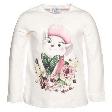Koszulka dziewczęca MONNALISA, euroyoung 002199