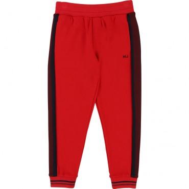 Czerwone spodnie dla chłopca LMJ 002235