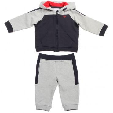 Dres niemowlęcy z kapturem Emporio Armani 002256