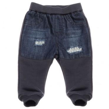 Niemowlęce spodnie z wydarciami Armani 002257