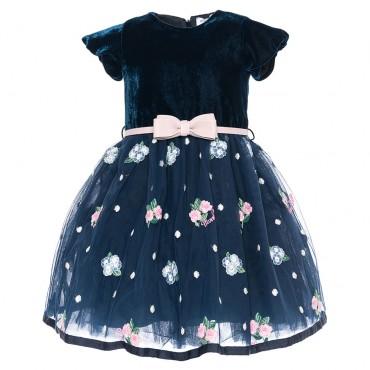 Luksusowa sukienka dziewczęca Monnalisa 002323