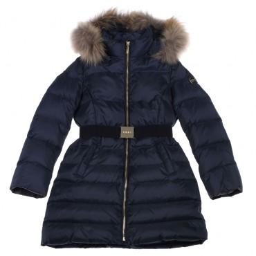 Długa kurtka puchowa dziecięca Liu Jo 002345