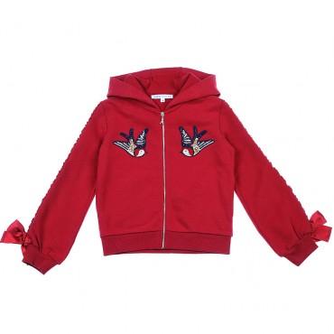 Bluza z motylami Patrizia Pepe 002354 A