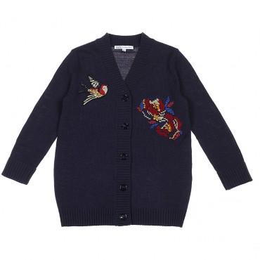 Sweter dziewczęcy Patrizia Pepe, euroyoung 002357