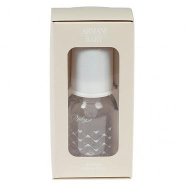 Biała butelka niemowlęca Armani Baby 002397 A