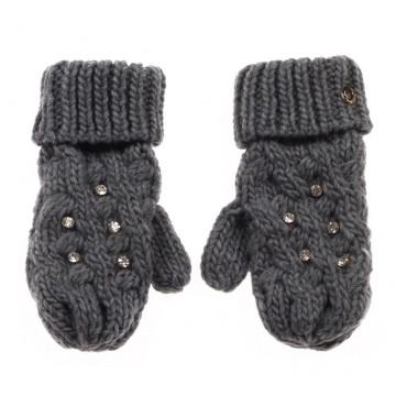 Szare rękawiczki TWIN SET 002408 A