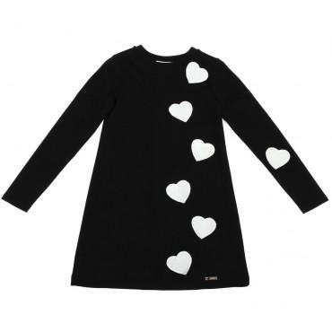 Sukienka w serca Twin Set 002412 przód