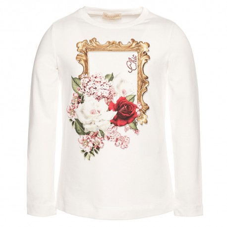 Koszulka dziewczęca MONNALISA, euroyoung 002420